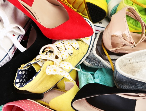 เปลี่ยนกองรองเท้าที่แสนรกมาเป็นชั้น Collection รองเท้าดีกว่า 👞🩰